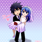 AT:Gruvia Bridal Style by Inspired-Destiny