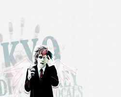 Kyo Dir en Grey wallpaper by PRINCEcomplex