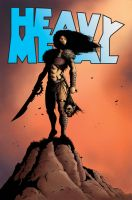 Heavy Metal Fan Art Cover by JZINGERMAN