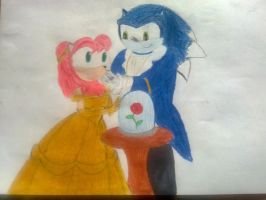 Sonamy Beauty and beast by Spikinette
