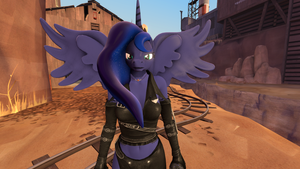 Warrior Princess Luna by EquestianRacer