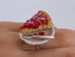 Cherry tart by Lovely-Ebru