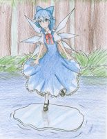 Cirno by KrystalizedArtist9