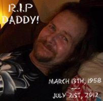 R.I.P DADDY! by CalicoWoolfe