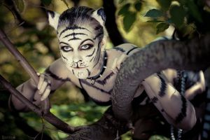 White tigress by MiriamBast