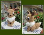 Crocheted Eevee Plush by aphid777