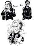 Character studies - Pasquale, Loris and Vasco by M3Gr1ml0ck