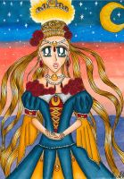 Usagi's Coronation by HarmoniousSilence