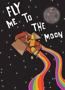 Fly Me To The Moon by JoaoMarcos14