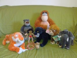 The Jungle Book plush by Frieda15