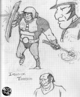 Tonobrio sketches by NyQuilDreamer