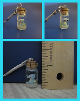 Horsea in a Bottle Charm by minnichi