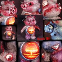 Killer Care Bear Chaos God 2 by Undead-Art
