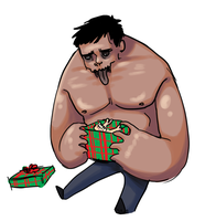 L4D - An Xmas Present for Tank by SuperKusoKao