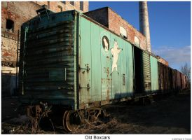 Old Boxcars Don't Die... by hunter1828