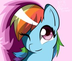 Rainbow Dash by CityCatSlack