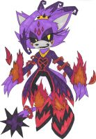 .:Heartless Blaze:. by C8LIN-The-Hedgie