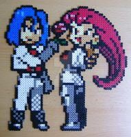 Team Rocket sprite bead by ShadowSkilz