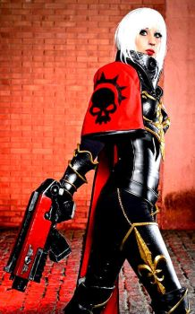 Video Game War Hammer Cosplay by epicheroes