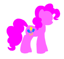 Minimalistic Style Pinkie Pie by Harry-Potter-Addict