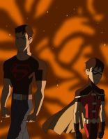 Young Justice: World's Finest by MeteorShowerVictim