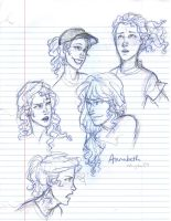 annabeth chase by burdge