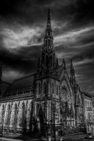 Methodist church B and W by Keith-D