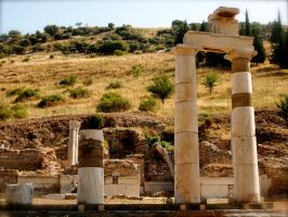 Ancient Ephesus by jacobjellyroll
