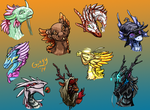 Dragon Head Pics by Gingy1380
