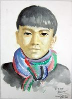 a Ha Giang boy by redgoat3003