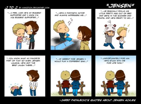 J to J: Jensen by KamiDiox