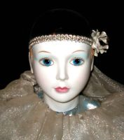 Boudior Pierrot Doll 1 by Falln-Stock
