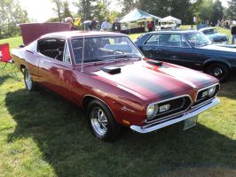 1969 Barracuda by prestonthecarartist