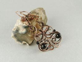 Francesca earrings by UrsulaOT