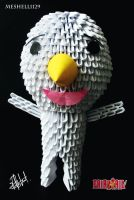 Plue (Nikora) 3D Origami by meshell1129