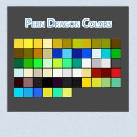 Pern Dragon Colors by Linkdb
