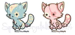 {Closed} Kawaii Kittens Batch No.2 by SparklyCrystalAdopts