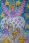 Angel of love for family by ingeline-art
