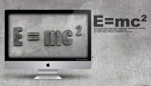e equals mc2 by andyhutchinson