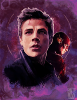 Barry Allen - The Flash by sugarpoultry