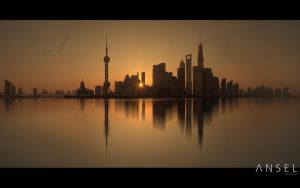 Shanghai Silhouettes by Draken413o