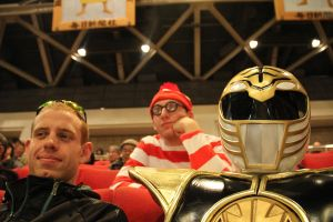White Ranger and Waldo 3 by KellHiro