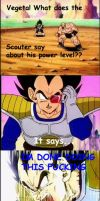 Vegeta is pissed by Omega208