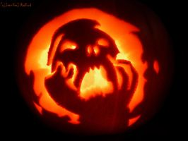 Mourning Jack-o-Lantern by Jenna-Rose