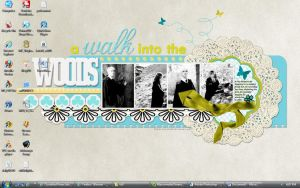 My Current Desktop by isnani