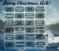 Ash's Advent Calender 2014 by Svavellitium