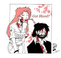 Got more blood? by Kapalsky