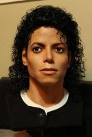 Michael Jackson Bad lifesize bust 1/1 new lighting by godaiking