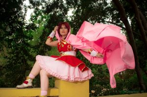 Hikaru Shidou Magic Knight Rayerth by Lushors