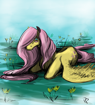 Fluttershy by InvaderPixi